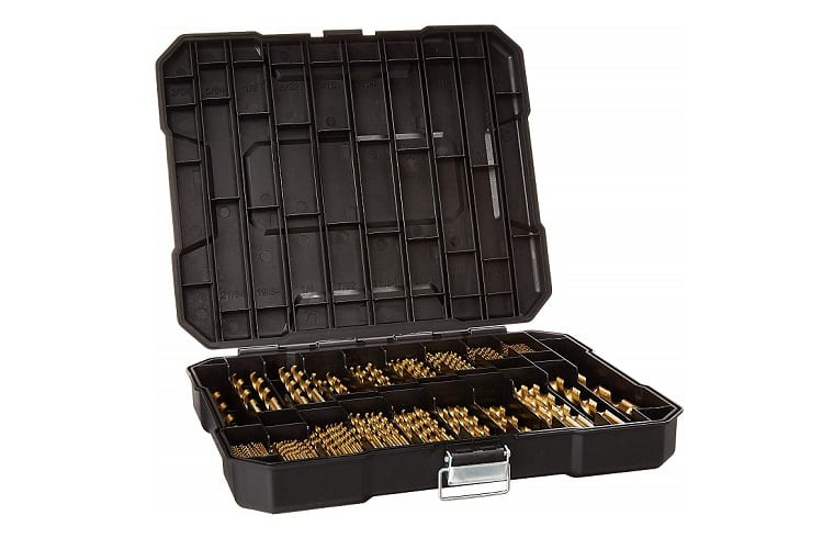 230 Pieces Titanium Drill Bits Set for Wood Metal Aluminum Alloy Review