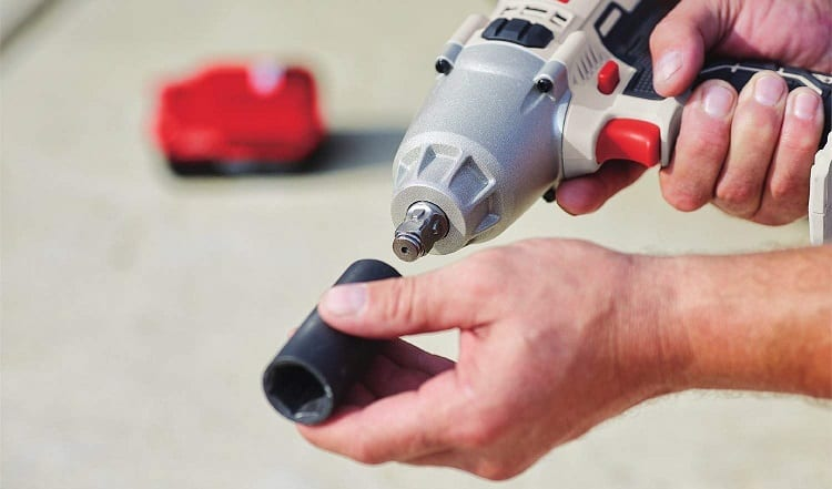 attachment for impact wrench