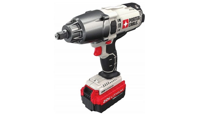 "PORTER-CABLE PCC740LA 1/2"" Cordless Impact Wrench Review"