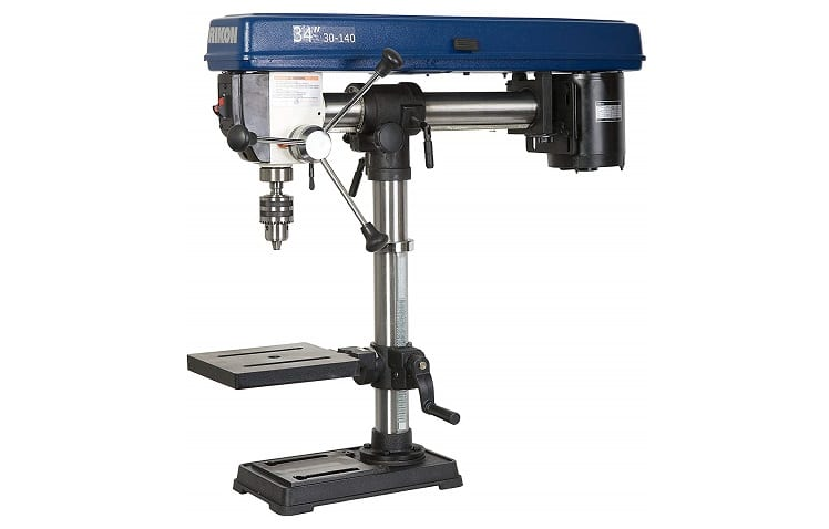 RIKON 30-140 Bench Top Radial Drill Press Review