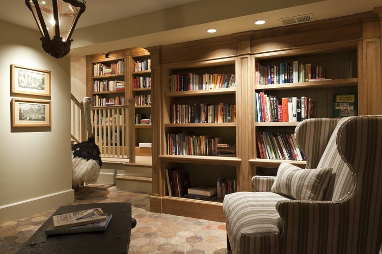 Library in The Basement
