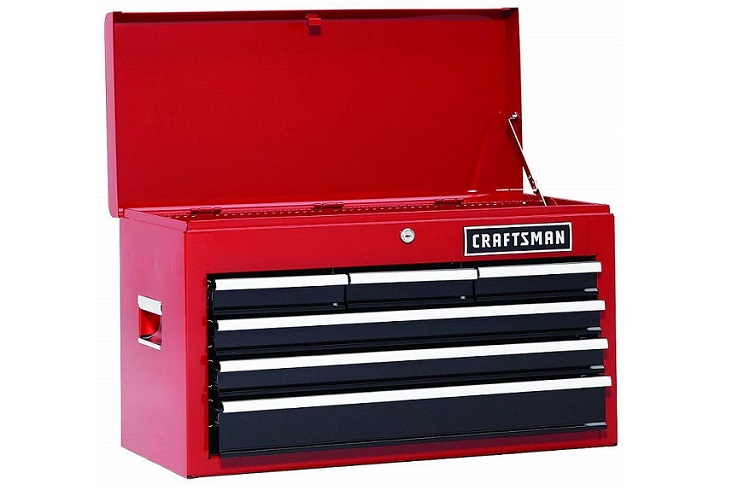 Craftsman 6 Drawer Heavy Duty Top Tool Chest Review