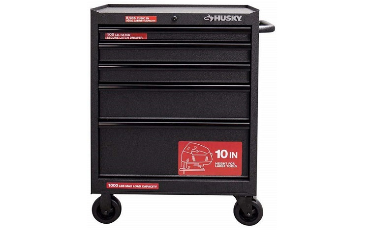 Husky Five-Drawer Roller Cabinet and Tool Chest Review