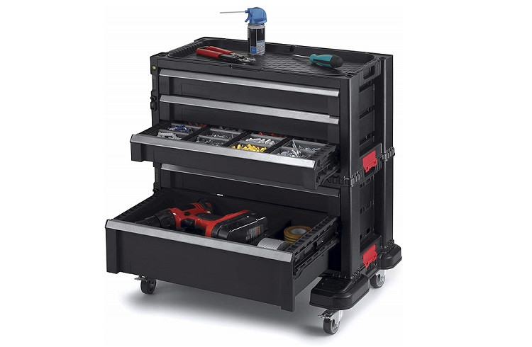 Keter Modular Locking and Rolling Tool Chest Review
