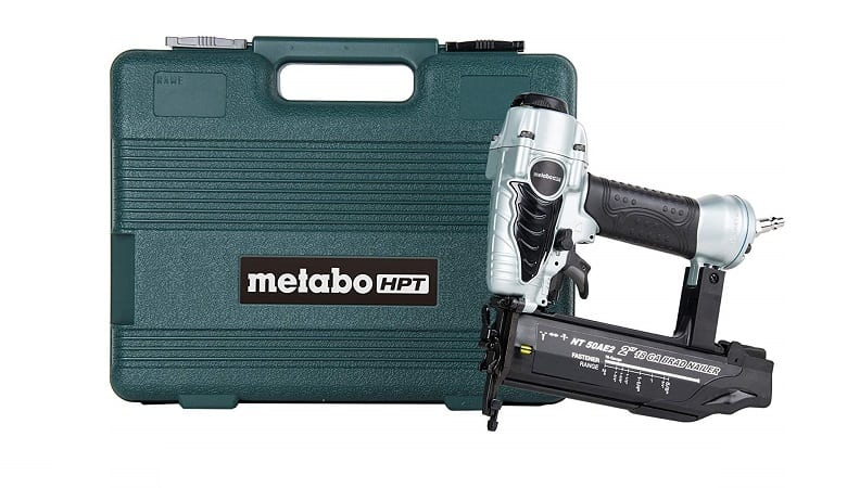 METABO HPT PNEUMATIC BRAD NAILER