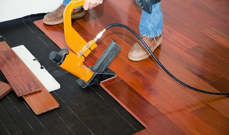 CAN YOU USE A BRAD NAILER ON FLOORING?