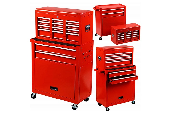 Rolling Tools Chest with Drawers Review