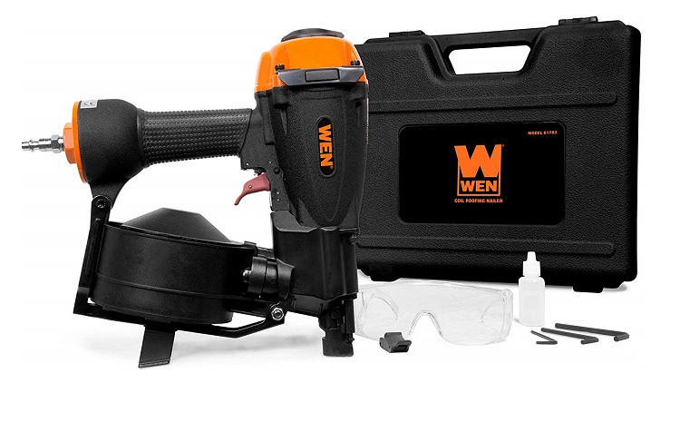 WEN Pneumatic Coil Roofing Nailer Review