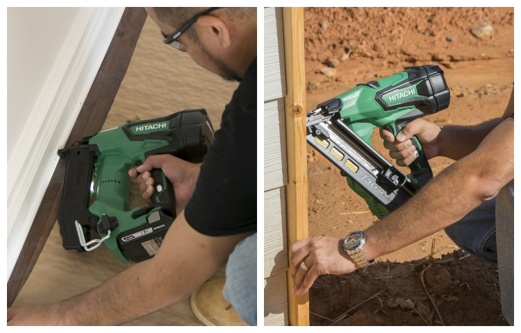 brad nailer and finish nailer comparison