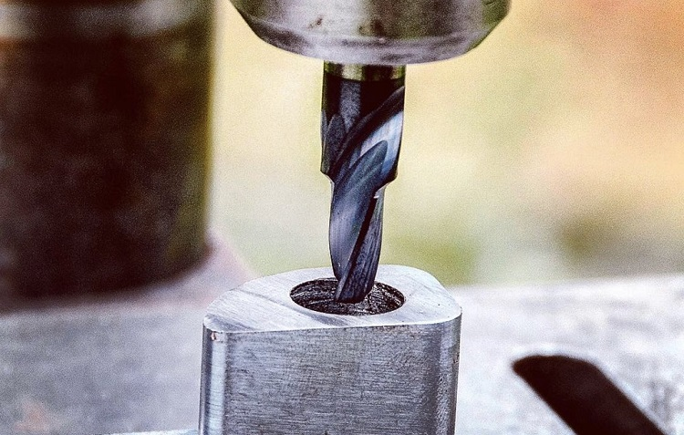 boring with special drill bit