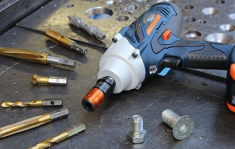 CAN AN IMPACT WRENCH BE USED AS A DRILL?