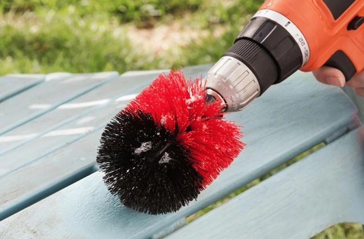 Cordless Drill Brush Attachment