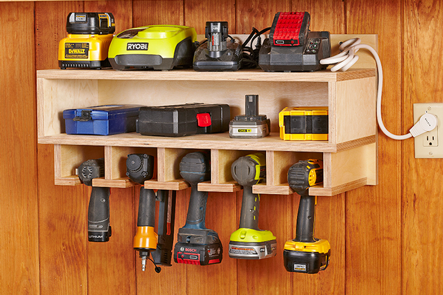 How To Organize Your Power Tools (And Other Tools)
